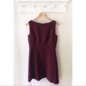 Kate Spade A-line Maroon Dress Size 8